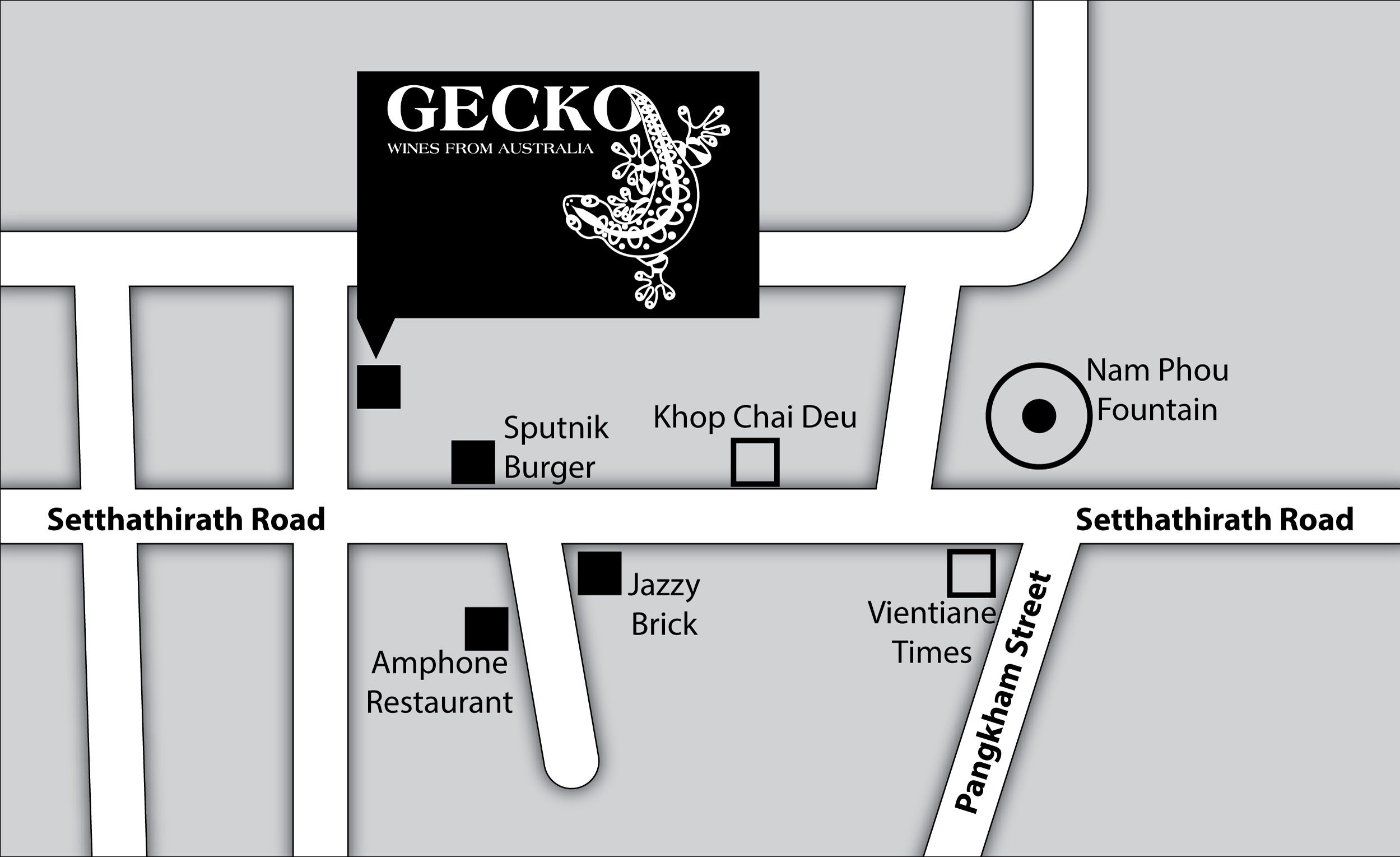 Gecko Shop Map